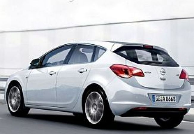 Noul opel astra