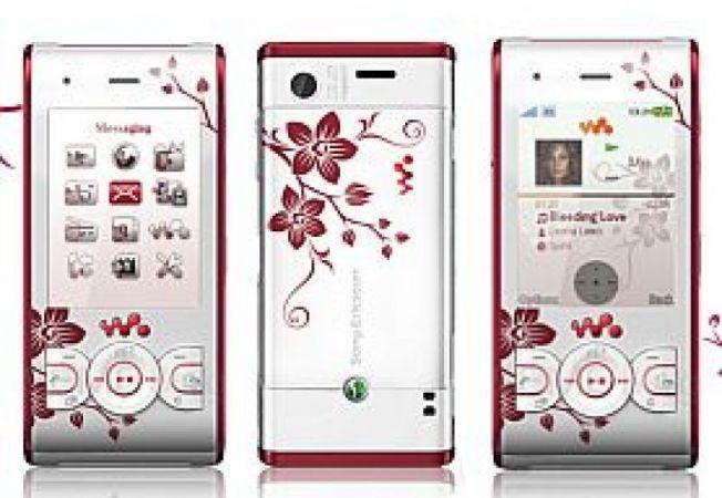 Sony Ericsson W595 Cosmopolitan Flower