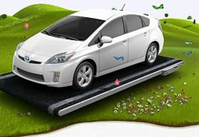 Toyota-Prius-Flower