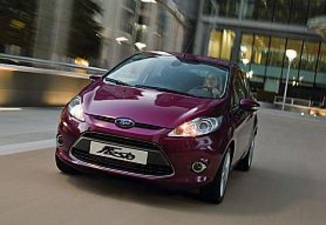 Ford Fiesta Hot Magenta