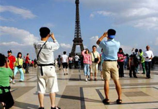 turisti Eiffel