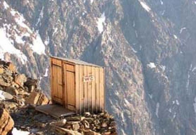 toaleta pe munte