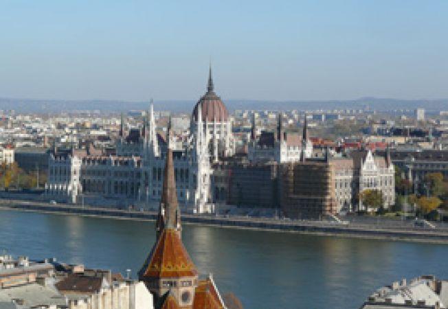 Budapesta panorama Dunare