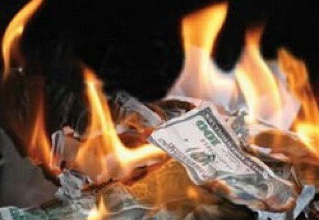547150 0812  dollars burning