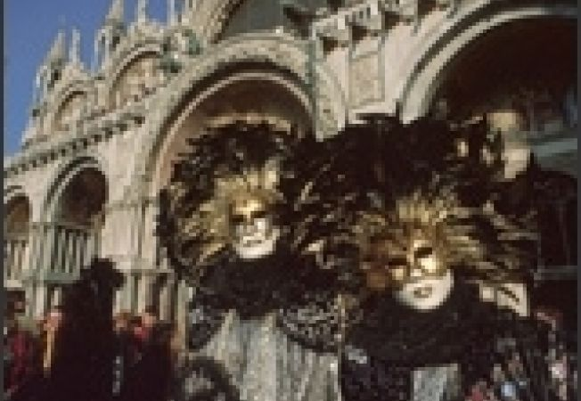 carnaval venetia negru