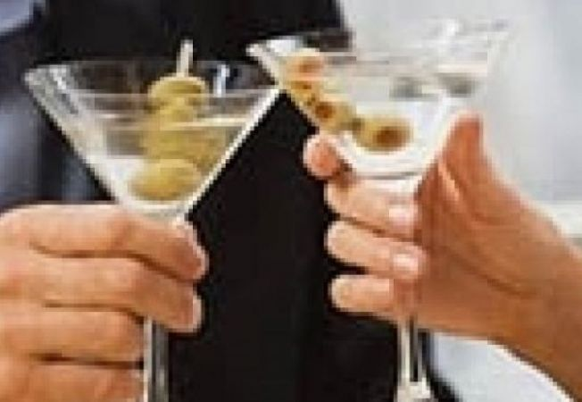 pahare martini ciocnit