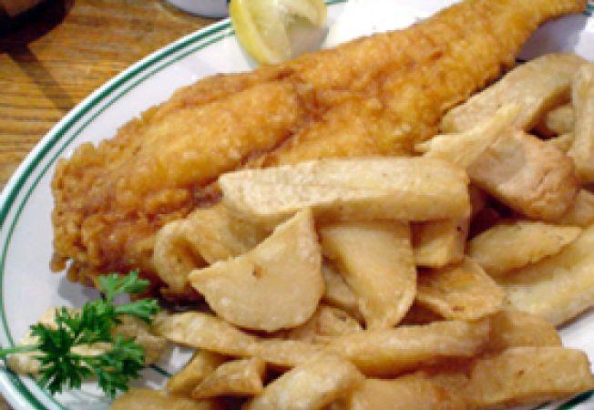 Londra fish&chips
