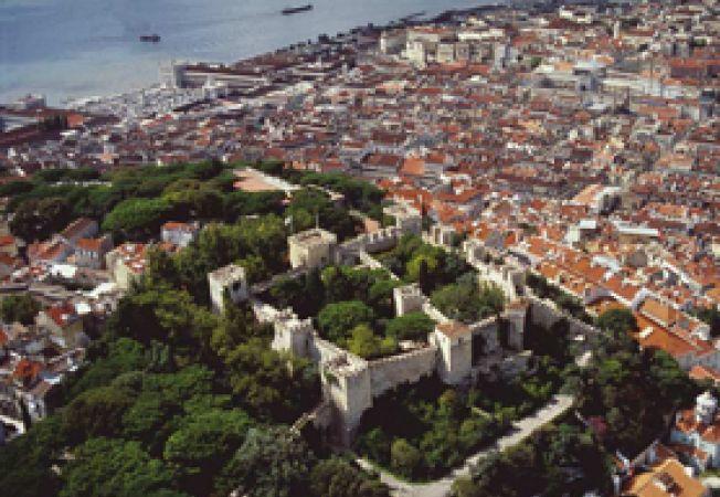 Lisabona, vedere aeriana