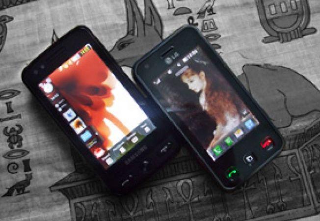 Lg Renoir vs Samsung Pixon - A