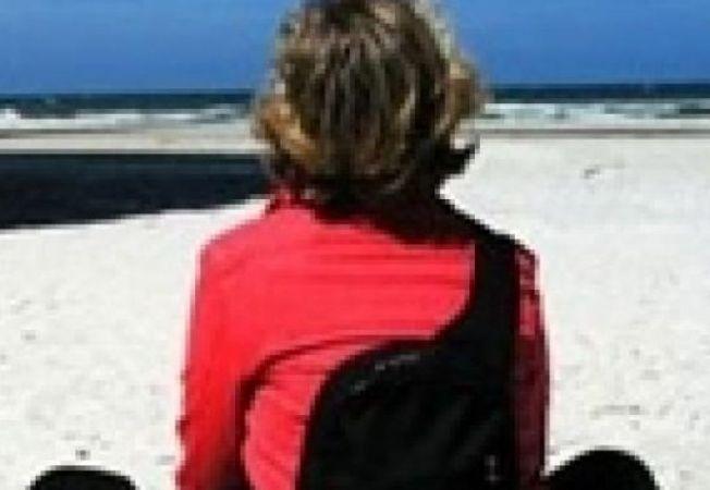 femeie plaja