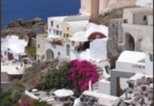 grecia santorini cladiri