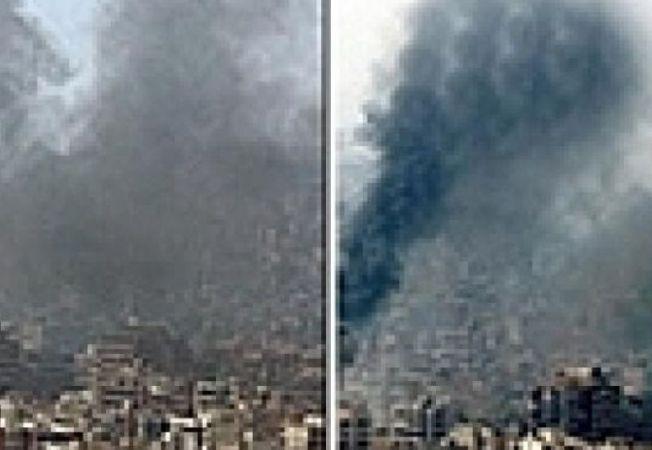 foto trucate Liban