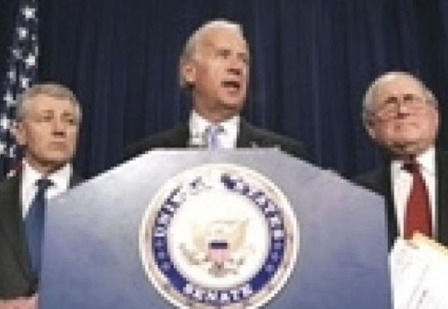 Joe Biden Carl Levin Chuck Hagel