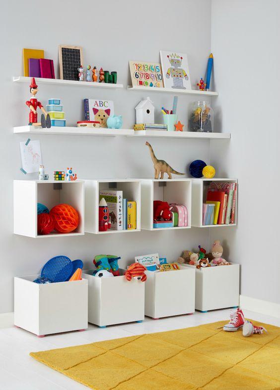 solutii de organizare camera copilului