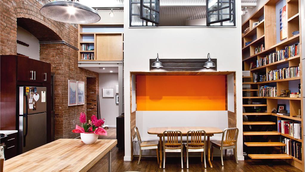 4 apartamente cu design industrial in care ti ai dori sa locuiesti. Black Bedroom Furniture Sets. Home Design Ideas
