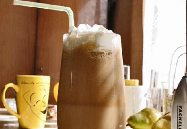 Retete internationale de cafe frappe