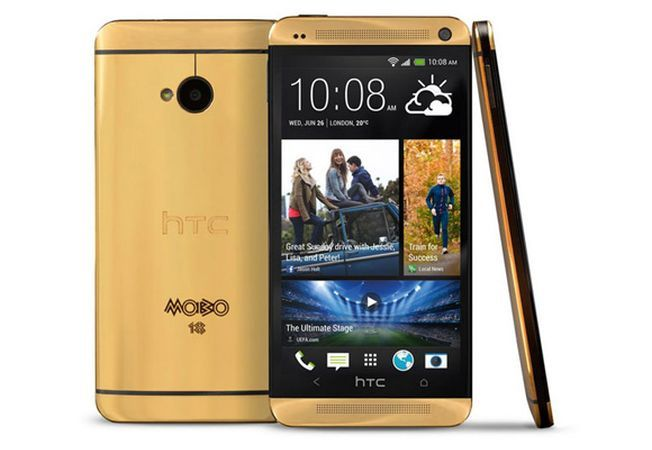 HTC One Gold in editie limitata costa 3.300 de euro