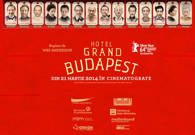 The Grand Budapest Hotel (2014) - in cinema din 21 martie