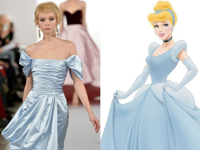11 tinute de la NY Fashion Week inspirate din desenele Disney
