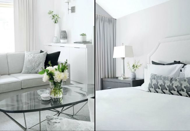 apartament all white