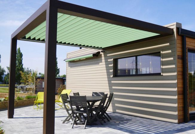pergola-retractabila electric gradina terasa