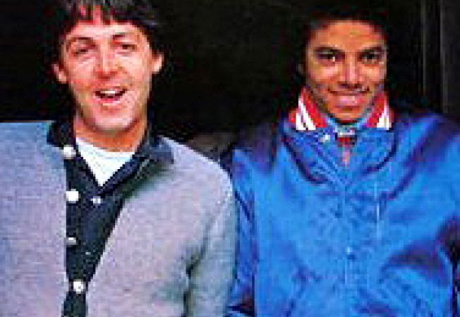 Paul McCartney si Michael Jackson