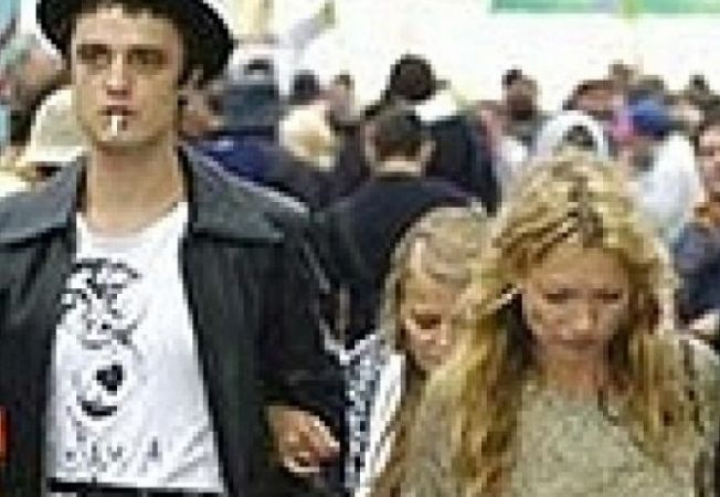 Pete Doherty si Kate Moss